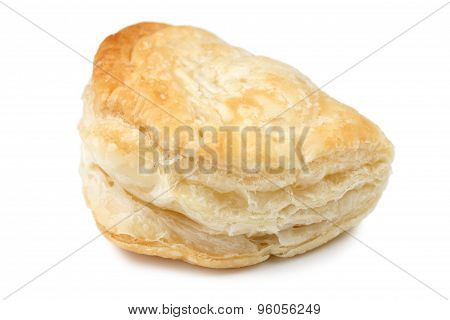 Tyropitakia (Greek Cheese Parcels) isolated on white
