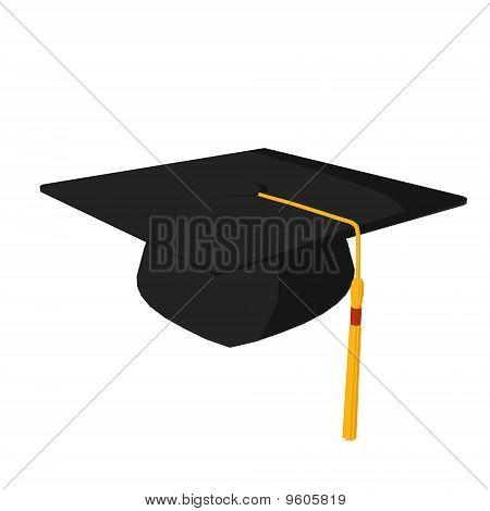 Graducation Cap Illustration