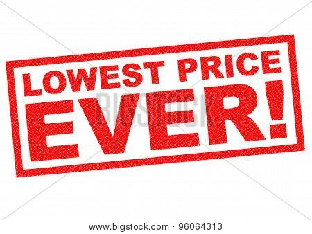 Lowest Price Ever!