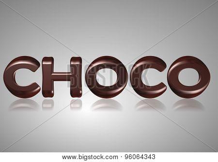 Word choco