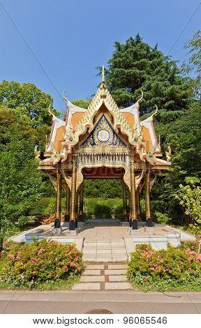 Thai Pavilion (2007) In Ueno Zoo, Tokyo, Japan