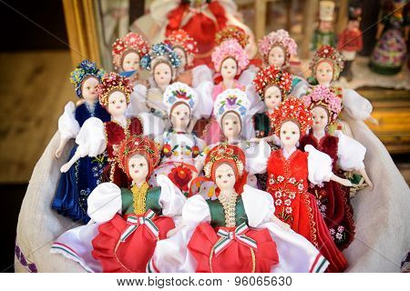Traditional Hungarian Dolls