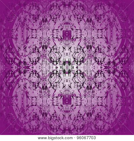 Seamless pattern purple gray
