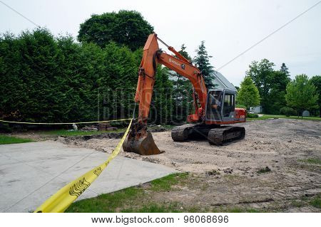 Hitachi Backhoe