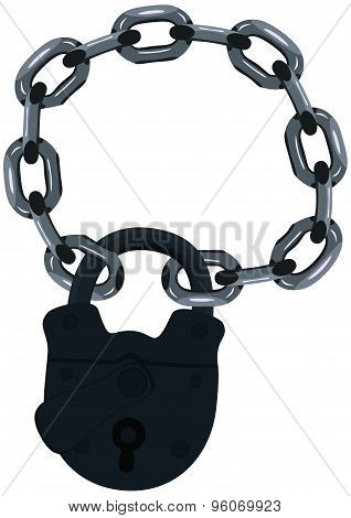 Lock On A Chain.