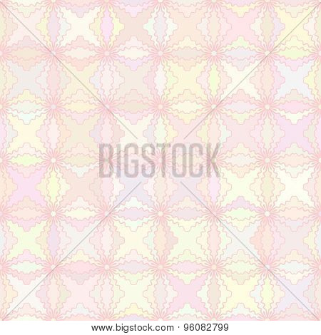 Abstract vector background Seamless ornamental mosaic texture