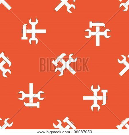 Orange repairs pattern