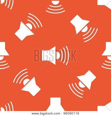 Orange loudspeaker pattern