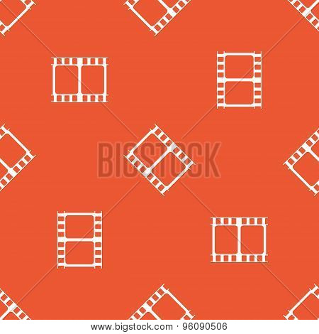 Orange movie pattern