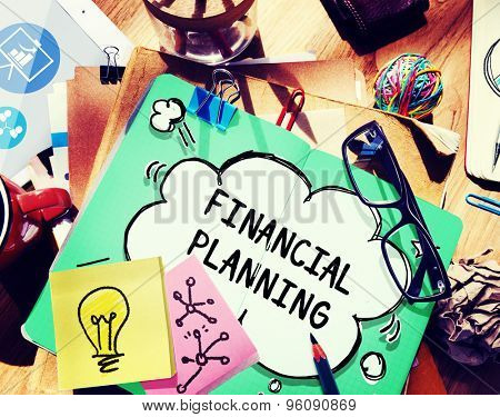Financial Planning Accounting Investment Estate Concept