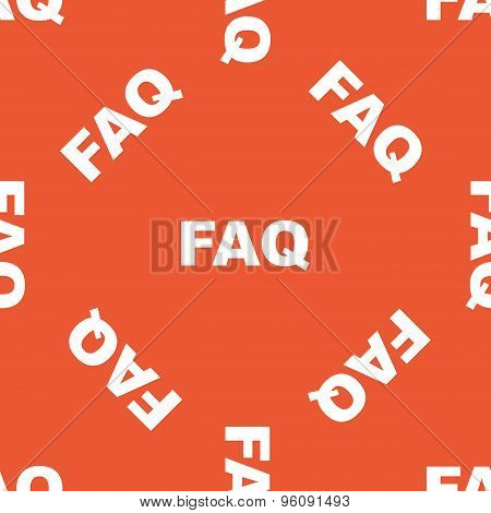 Orange FAQ pattern
