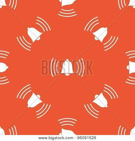 Orange ringing bell pattern