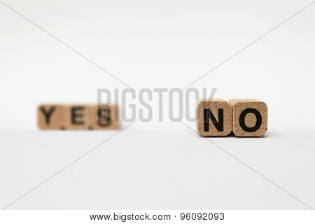 yes or no, question / answer conceptual