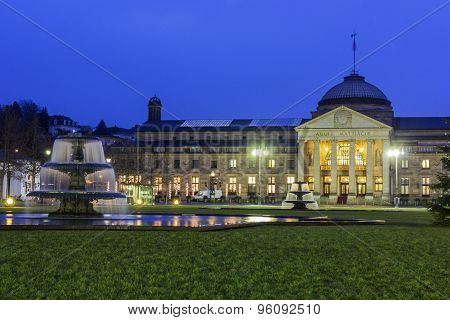 The Kurhaus Of Wiesbaden In Germany