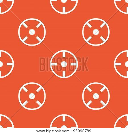 Orange aim pattern