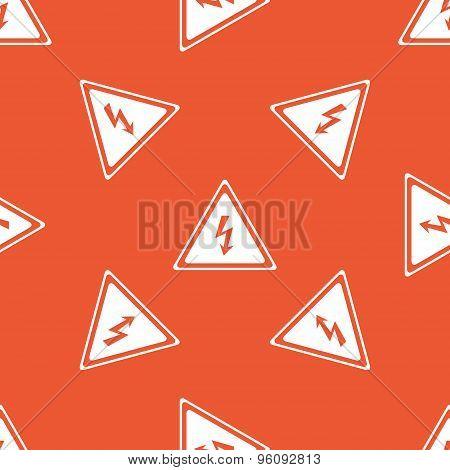 Orange high voltage pattern