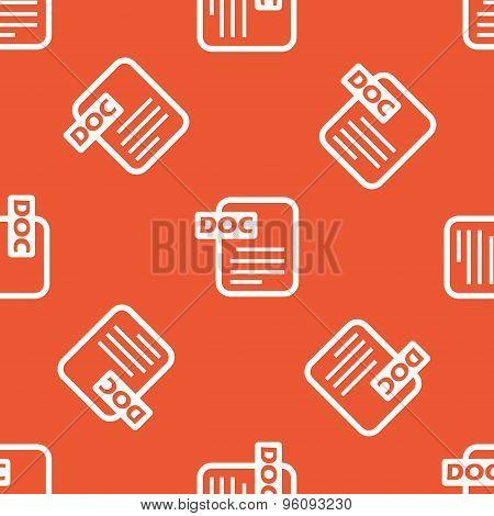 Orange DOC file pattern