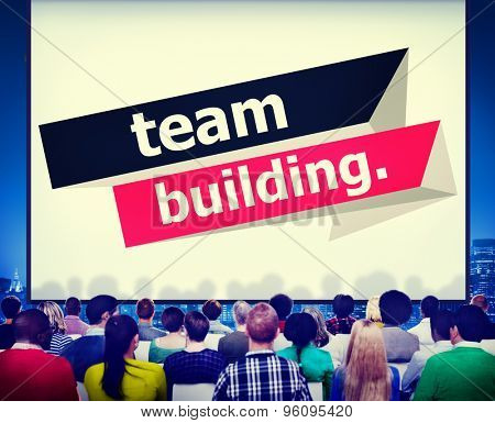 Team Building Cooperate Cooperation Management Concept