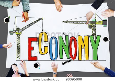 Economy Financial Accounting Business Investment Concept