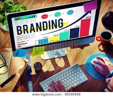 Branding Brand Copyright Trademark Marketing Concept