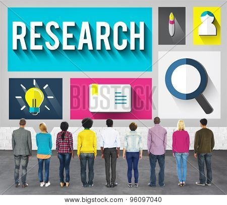 Research Information Knowledge Discovery Education Concept