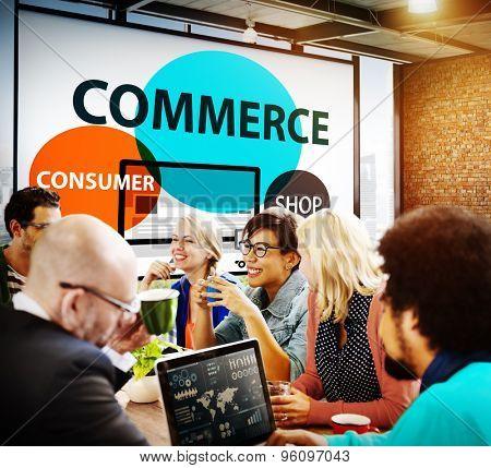 Commerce Consumer Shop Shopping Marketing Concept