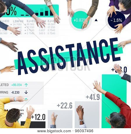 Assistance Support Partnership Cooperation Help Concept