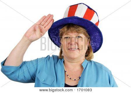 Military Wife Salutes