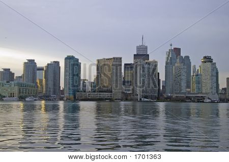 Toronto Skyline From Water