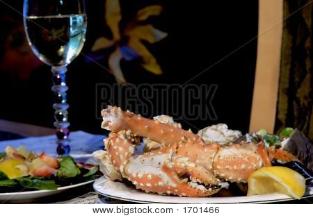 Alaskan King Crab Dinner