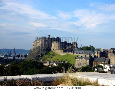 View Of Edinburgh Castle, Scotland
