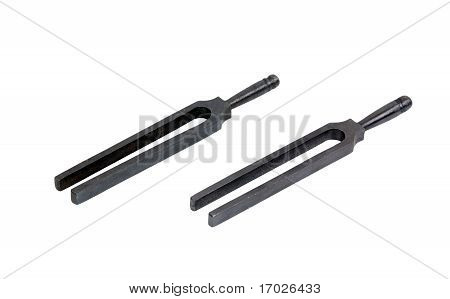 Two tuning forks