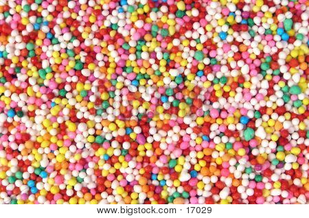 Colored Sprinkle Background