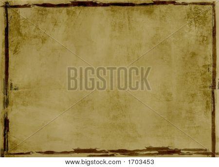 Grunge, Bordered Background