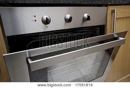 detalle del horno moderno