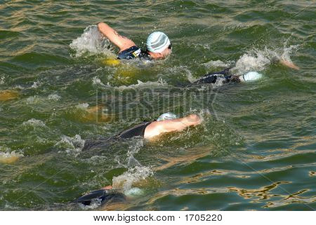Triathlon Swimmer