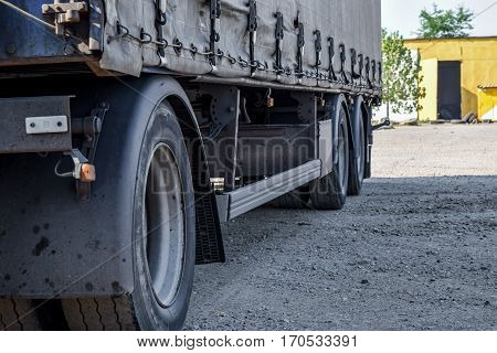 The Wheels Of The Truck