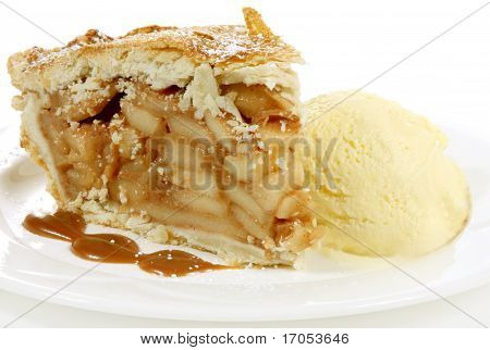 Apple Pie And Icecream