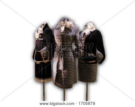 Three Elegant Lady'S Suits