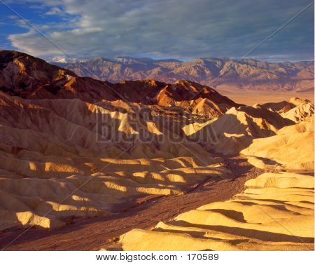 Zabriske Point Death Valley