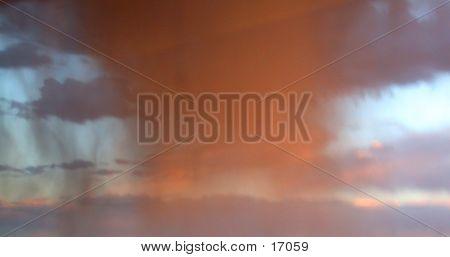 Sunset Rainstorm