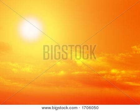 Sun Sky And Clouds 2