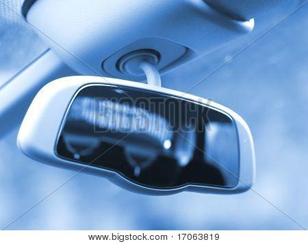 Interior de coche moderno