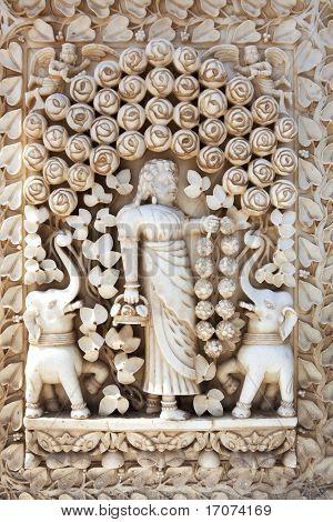 shri karni mata temple in deshnoke near Bikaner rajasthan state in india