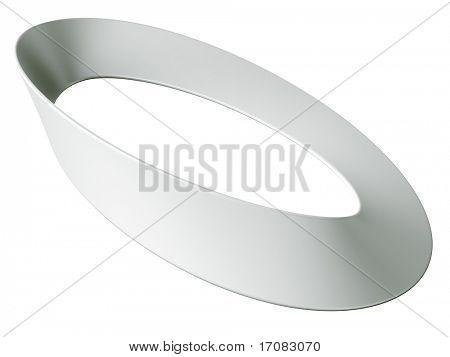 3d rendering of a Mobius strip