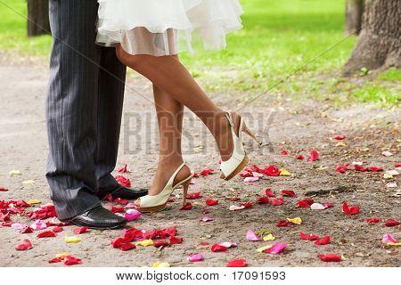 legs over petals