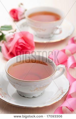 tea in elegant cups