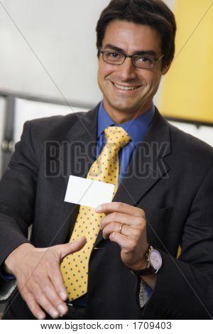 Businessman Handshaking