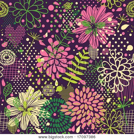 Bright seamless pattern