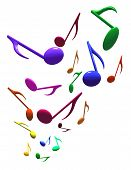 pic of music note  - three - JPG